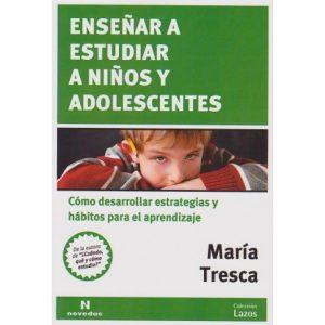 Libro Ensenar a estudiar a niños y adolescentes