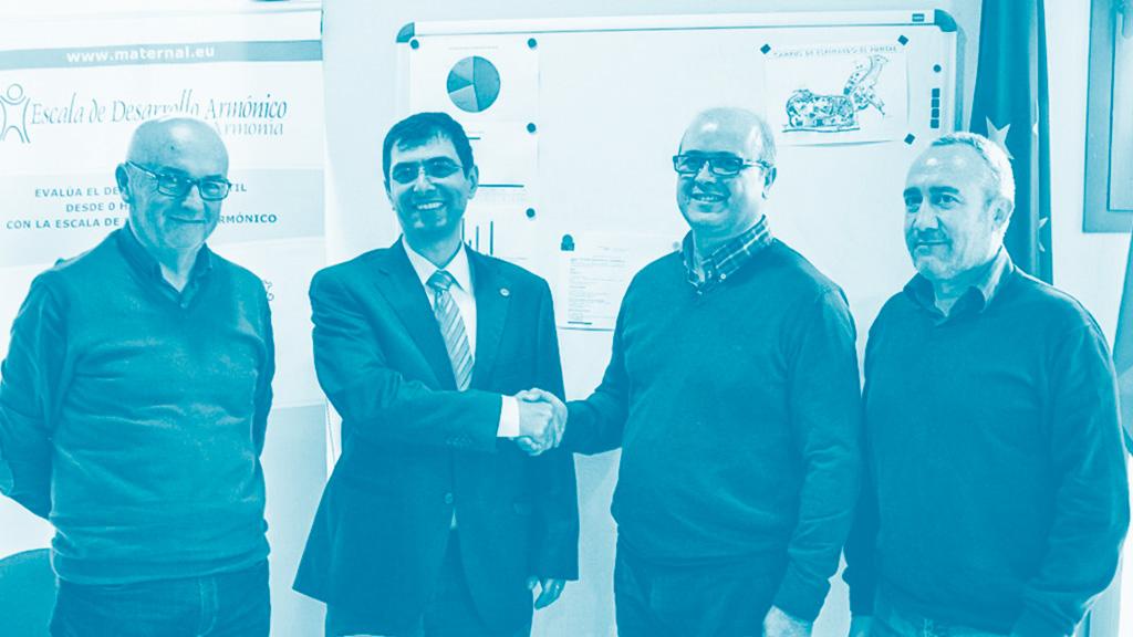firma del convenio con la Universidad de Murcia